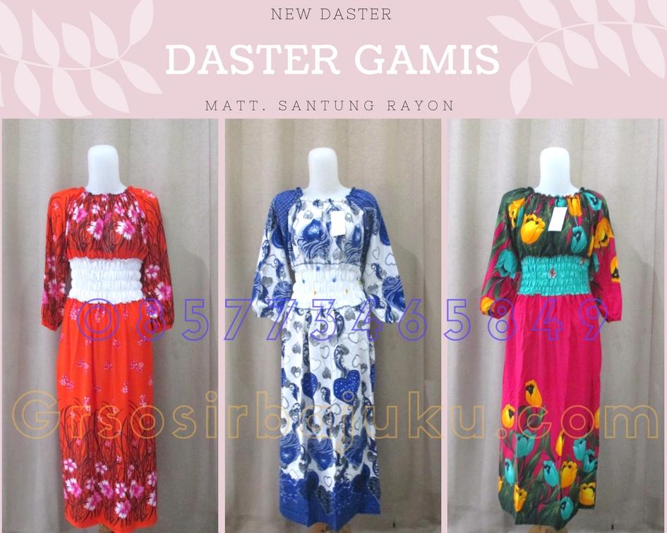 Produsen Daster Batik 18000 Grosir Daster Gamis Dewasa Terbaru Murah di Solo 33Ribu