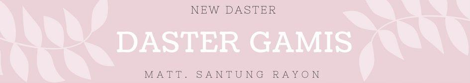 Produsen Daster Batik 18000