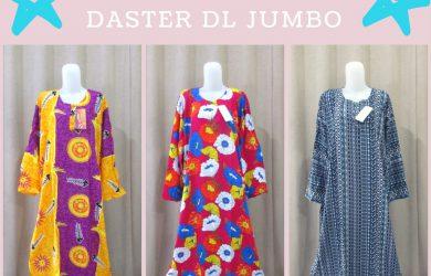 Pusat Grosir Daster DL Jumbo Wanita Dewasa Murah