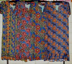 Produsen Daster Batik Kencana Ungu Murah