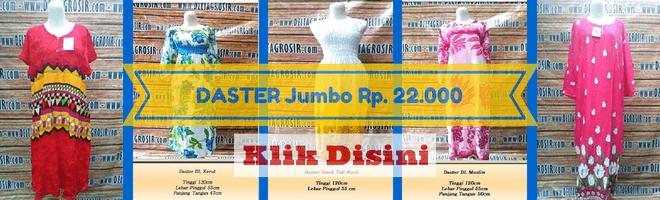 Grosiran Daster Murah Jakarta