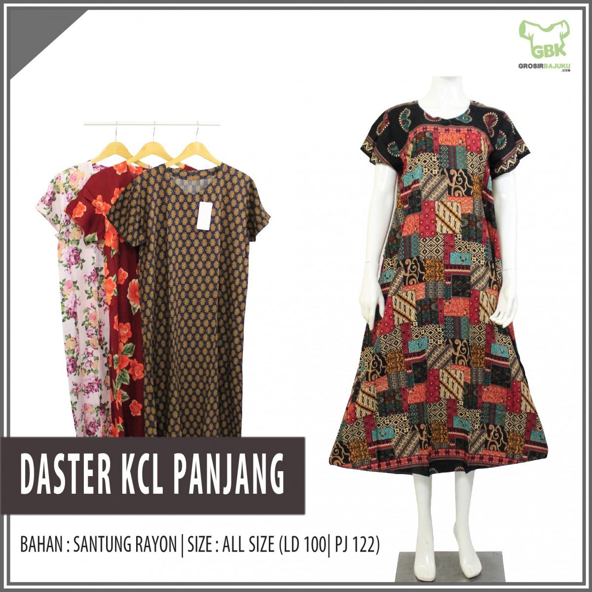 Produsen Daster Batik 18000 Supplier Daster KCL Panjang Murah di Semarang